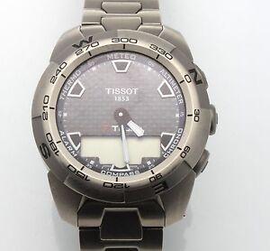 517cc7c75 Authentic Tissot Men's T013420A T Touch Expert TITANIUM Sport Watch ...