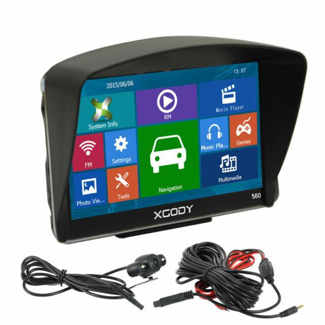 2x XGODY 7/'/' Car Truck Vehicle Portable GPS Navigation Navigator SAT NAV US Map