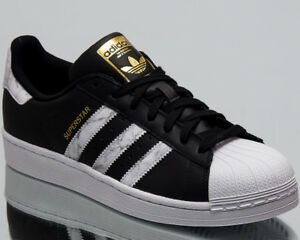 8b42a67f0 Image is loading adidas-Originals-Superstar-Men-New-Sneakers-Mens-Black-