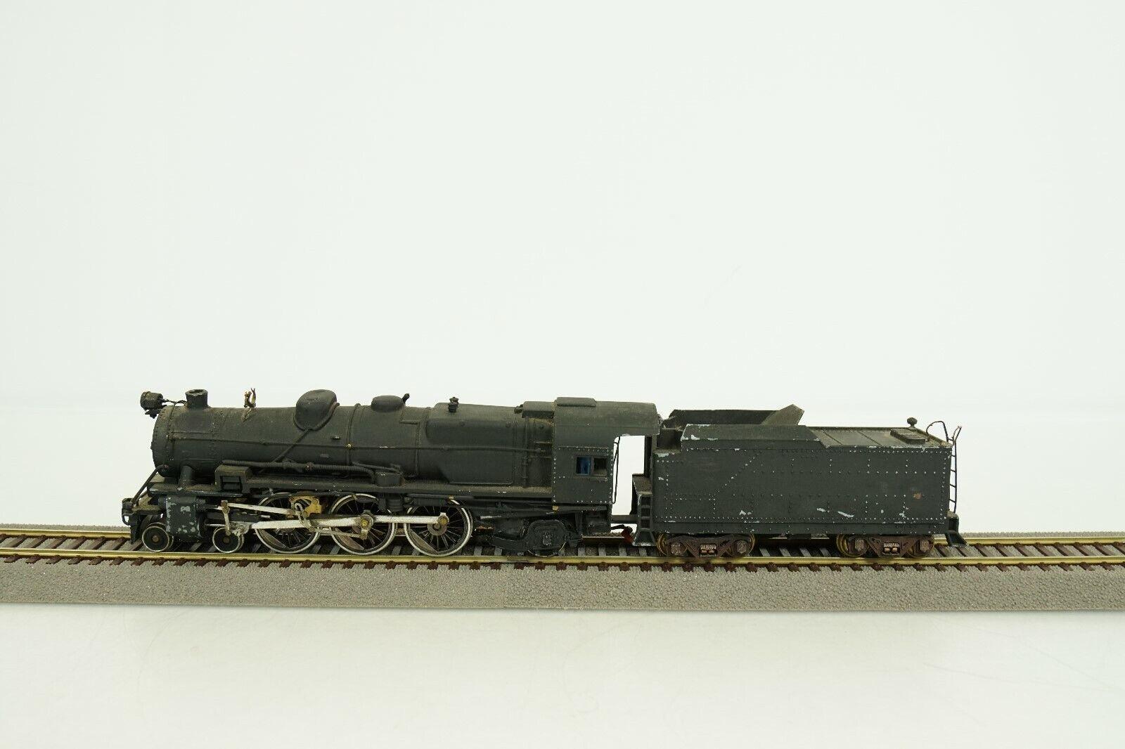 Penn Line HO Scale Pennsylvania 4-6-2 Steam Engine and Tender No Go No Box B84