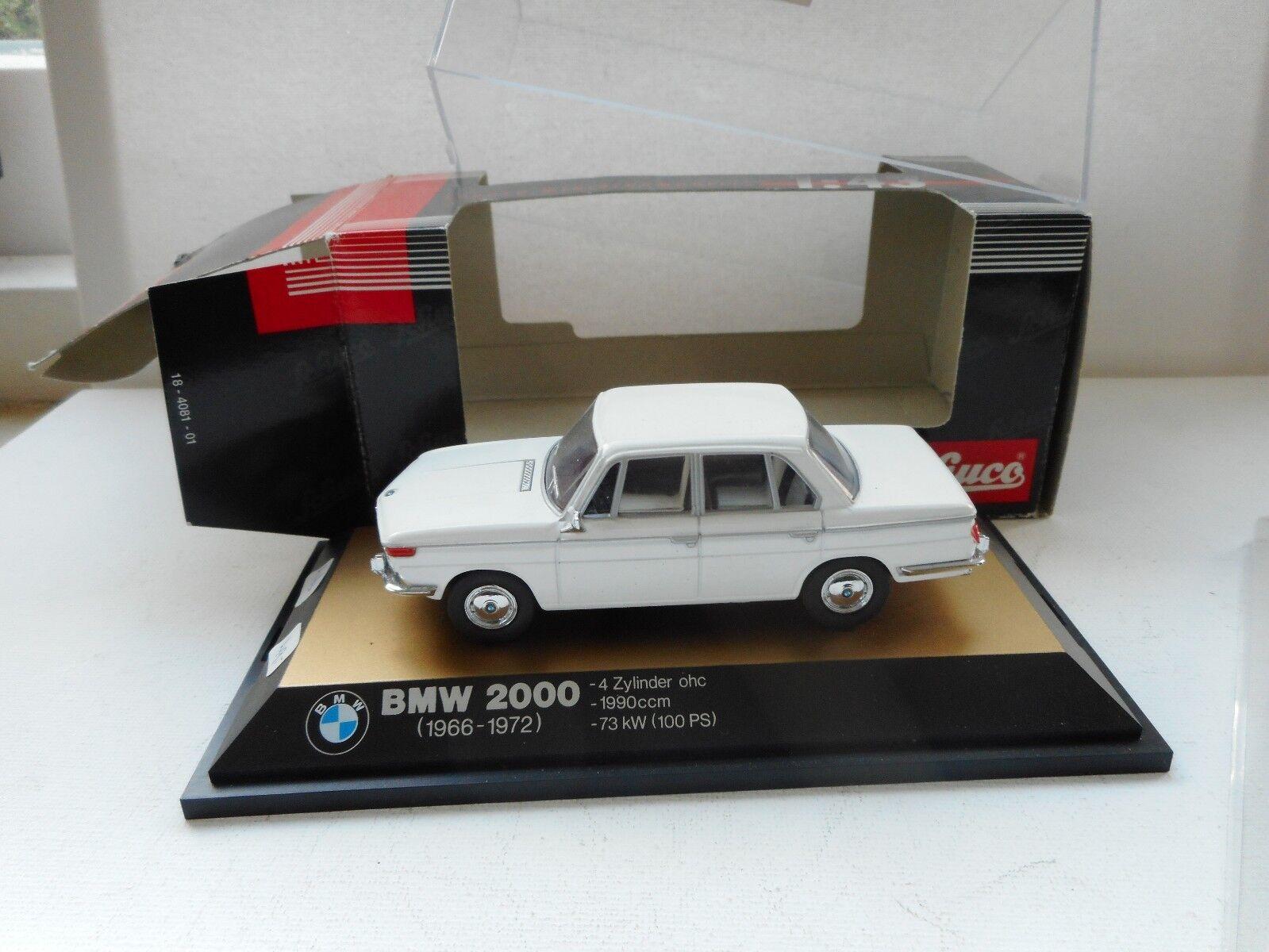 Schuco BMW 2000 021635  Nice Beige  (1966-1972)    1 43 scale diecast M boxed 66e19c