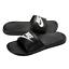 Nike-Mens-Benassi-Sliders-Slides-Pool-Sandals-Flip-Flops-Black-White thumbnail 18