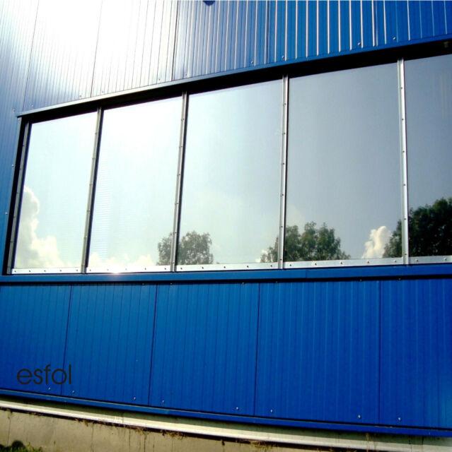 Sonnenschutzfolie Hitzeschutz Warmeschutz 82 Fenster Folie Aussen Spiegelfolie Ebay
