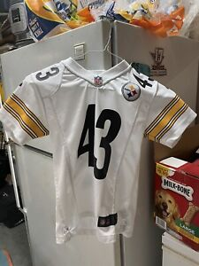 Nike Polamalu Pittsburgh Steelers Jersey Youth Small White Youth Small