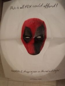 Deadpool 2 Toilet Seat Cover Sdcc New Unused Clean Box San