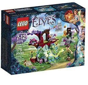 Lego-Elves-Farran-And-The-Crystal-Hollow-41076