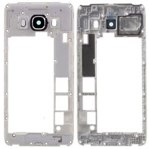 For-Samsung-Galaxy-J5-2016-J510-Middle-Frame-Chassis-Housing-Camera-Lens-Black