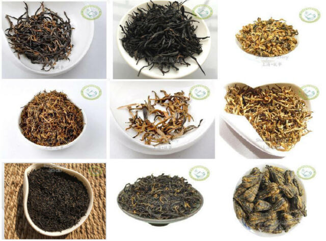 9 Types Assorted Famouse Chinese Black Tea 10g 9 Bags Ebay