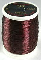 1 Oz Spool Gudebrod Burgandy 9008 Ht Metallic Rod Building Thread Size A Or D