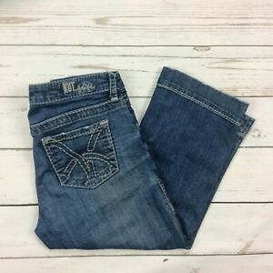 Kut-From-The-Kloth-Jeans-Size-6-Womens-Cropped-Capris-Denim-KC865MA2N