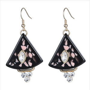 Image Is Loading Marni H Amp M Triangle Earrings