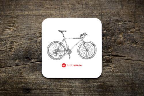 Retro Classic Orange Clockwork Coaster Bike Ninja