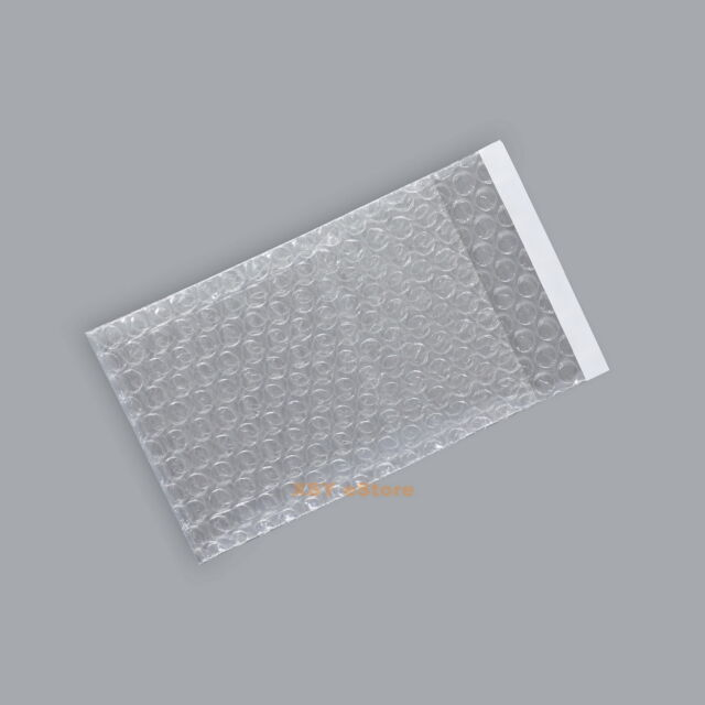 """100 Self Seal Bubble Packing Envelopes Cushioning Bags 5.5"""" x 6""""_140 x 150+25mm"""