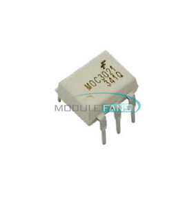 50PCS-Fairchild-MOC3021-Random-Phase-Optoisolators-Triac-Driver-Output-DIP-6-IC