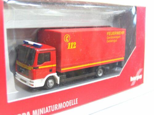 Herpa 1//87 047043 MAN TGL LKW mit Hebebühne Feuerwehr OVP KV2008