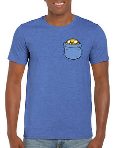 Jake-Pocket-Adventure-Time-Inspired-T-Shirt-S-M-L-XL-2XL-Adults-Kids