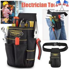 Tool Pouch Bag Waterproof Driver Drill Holder Work Belt Maintenance LH