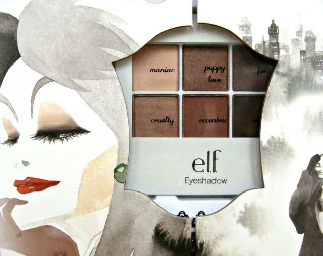 Cruella De Vil MakeUp Set ELF Face Disney Villain Halloween Book Step by Step