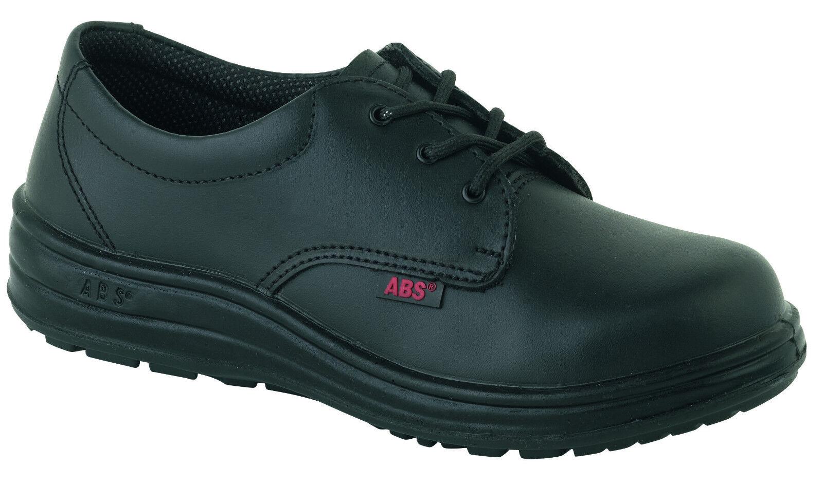 ABS 121pr Negro seguridad Mujer impermeables Puntera de Acero Botas seguridad Negro Zapato cdbc87