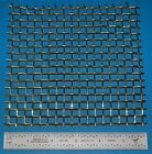 "Brass 3-Mesh (6730 micron), .063"" (1.6mm) Wire, .270"" Wd, 6x6"""