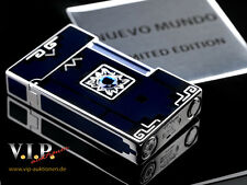 ST.DUPONT NUEVO MUNDO LINE 2 FEUERZEUG LIGHTER LIMITED EDITION PALLADIUM BRIQUET