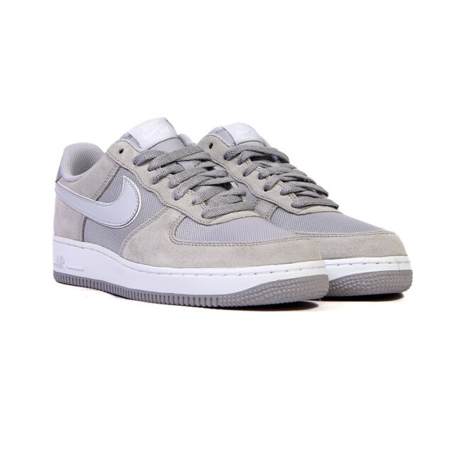 new arrival f98a3 948f7 Mens Nike Force 1 488298 090 Wolf Grey Brand New Size 9.5