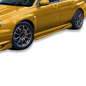 for-2002-2007-Subaru-Impreza-WRX-STI-C-Speed-2-Side-Skirts-Rocker-Panel-Add-on