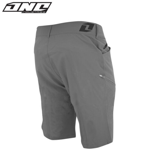 ONE INDUSTRIES ATOM XC RIDING SHORTS with liner MOUNTAIN BIKE MTB CYLE CHARCOAL