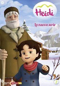 Heidi-La-Nuova-Serie-Vol-2-Ex-Rental-DVD-cofanetto