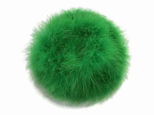 Kelly Green Turkey Medium Weight Marabou Feather Boa 25 Gram 2 Yards