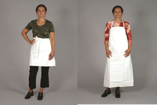 Arbeitsschürze Bäckerschürze mit oder ohne Brustlatz