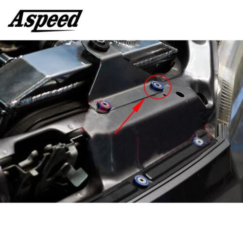 Fender//Bumper Washer//Bolt Engine Bay Dress Up Kit PURPLE 20xJDM Billet Aluminum
