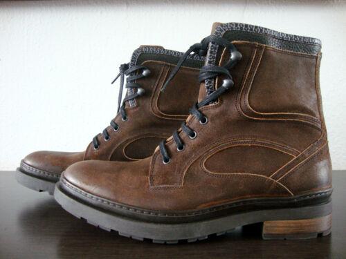 Homme Van Boots Bottes Chaussures Bommel Marron à Floris Taille Neuf lacets 41 txn4WdT4w