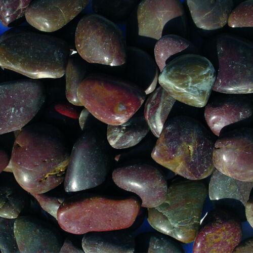 rot poliert 2-3 cm Zierkies 10KG Sack für den Gartenbereich