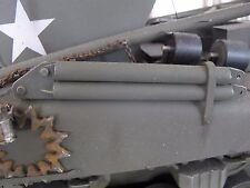Abschleppstange f. Sherman M32 RC US Panzer Tank Metall Bausatz Kit Zubehör 1/16