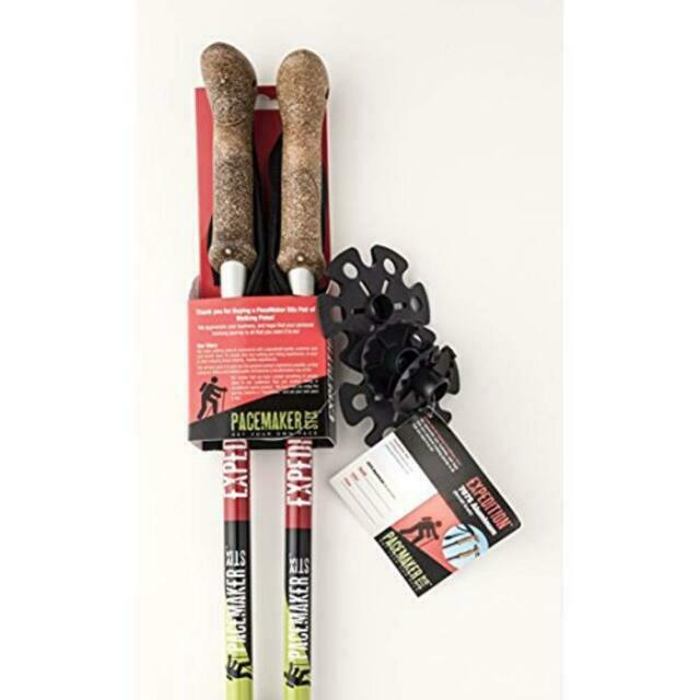 Pair of PaceMaker Stix Extended Life Vulcanized Rubber Tips//asphalt Paws