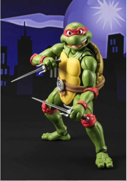 Teenage mutant ninja turtles s.h. figuarts raphael action - figur
