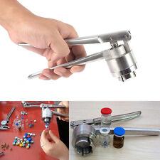 Hand Crimper Sealer Manual 20mm Cap Vial Capper Crimping Tool Stainless Steel SG