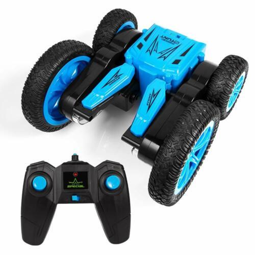 Ferngesteuerte Autos 1:24 4WD Allrad Stunt Spielzeugauto 12km//h 360° Drehung