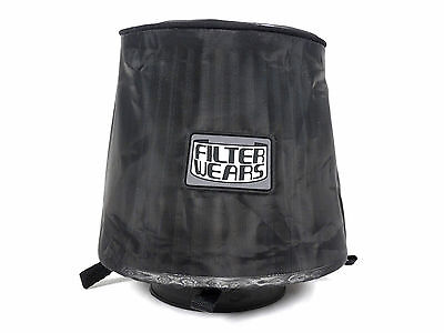 """FILTERWEARS Pre-Filter F193 Water Repellent 6/"""" Velocity Stack Turbo Horn Cover"""