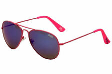 Superdry SDS Huntsman Neon Pink Aviator Sunglasses