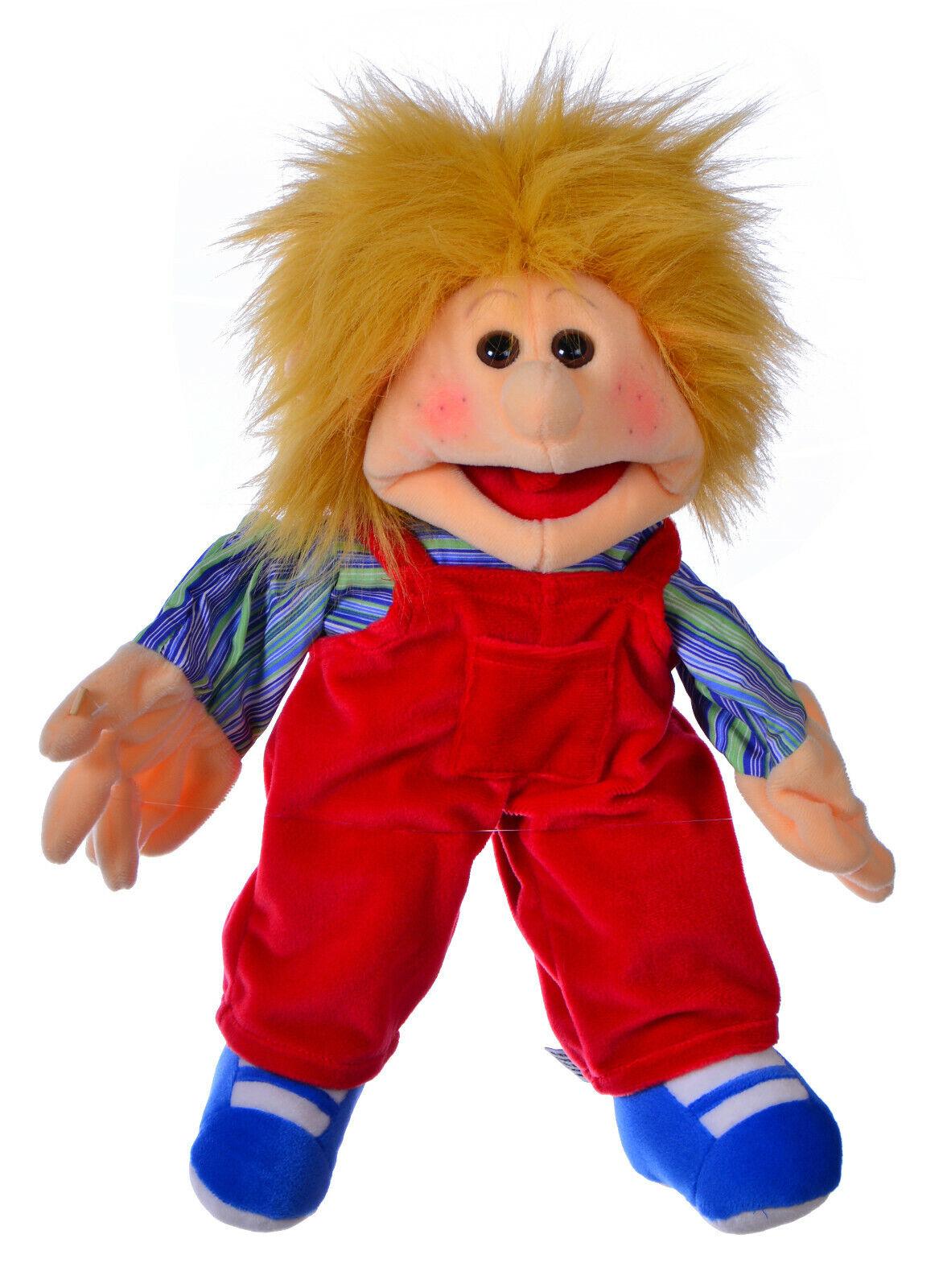Living Puppets W166 Emilchen Marioneta Títere 35 cm con rojoer Babero & ;