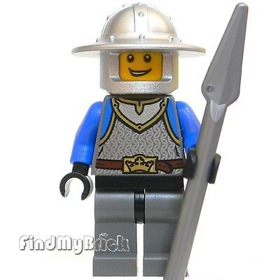 NEW LEGO Minifigure 10 Castle lion silver crown Knight soldier army figure 70400
