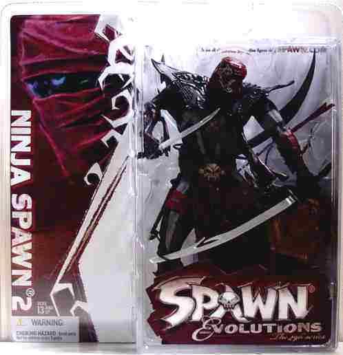 McFarlane Toys Spawn Evolutions Series 29 Ninja Spawn 2 Figure 2006 New a