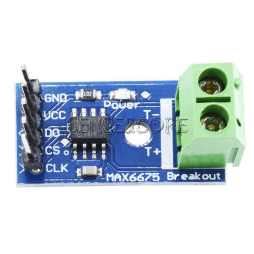 MAX6675 K-Type Thermocouple Temperature Sensor Module For Arduino New