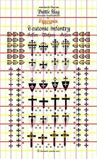 Battle Flag - Fireforge Games Teutonic Infantry Decal (Early Medieval) - 28mm