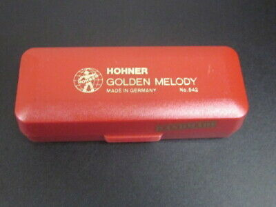 HOHNER GOLDEN MELODY HARMONICA KEY OF B  MADE GERMANY NEW IN PACK SALE