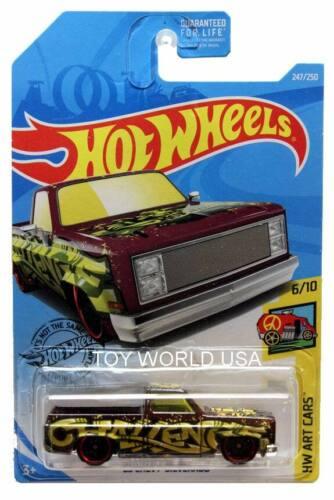 2019 Hot Wheels #247 HW Art Cars /'83 Chevy Silverado