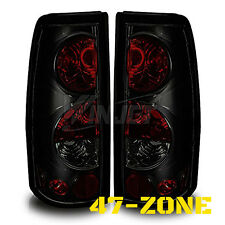 For Chevy Silverado GMC Sierra Altezza Black Housing Smoke Lens Tail Light Lamp