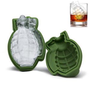 Grenade-Forme-3D-ICE-CUBE-Mold-Maker-Bar-Party-Silicone-Plateaux-Moule-Outil-Cadeau